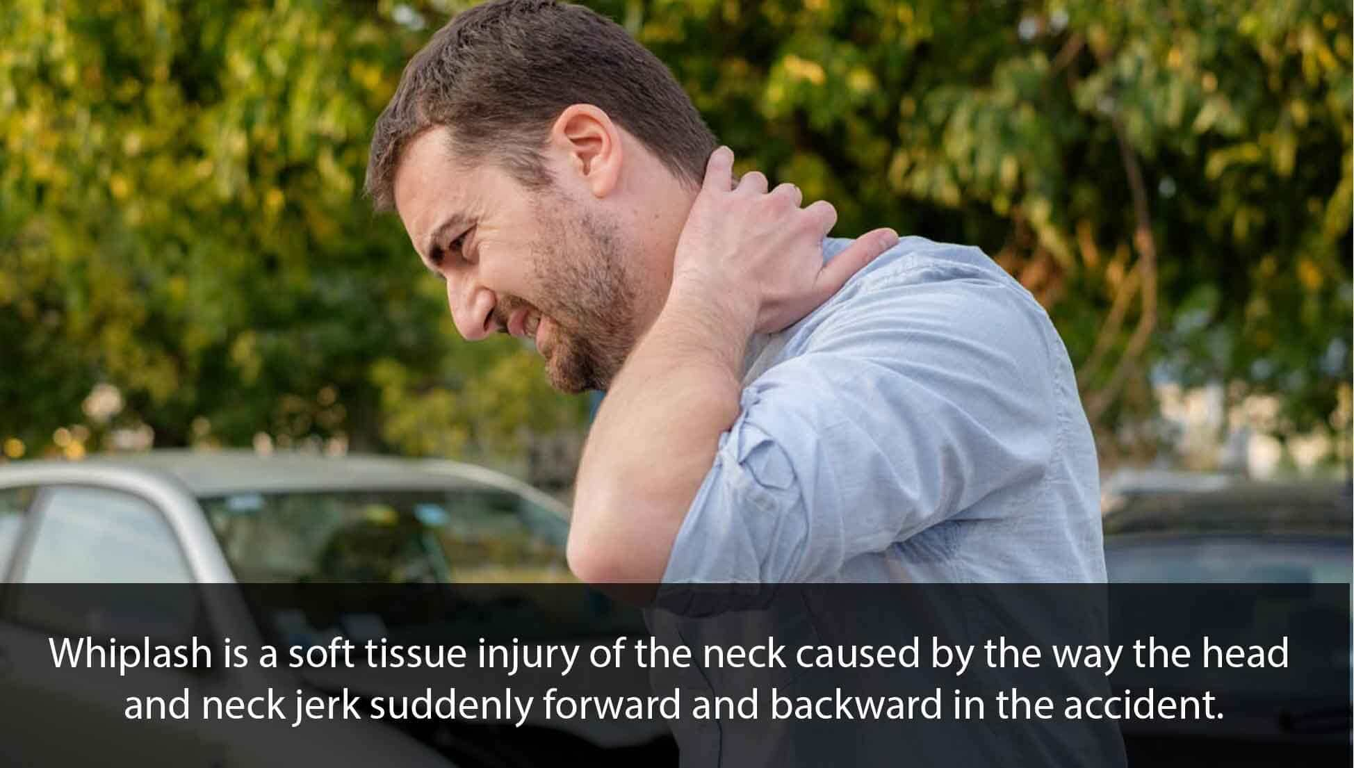 pain after car accident delayed
